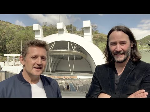 Big Rig - Bill & Ted Face The Music Has Started Filming. Woooo Keanu's Face!