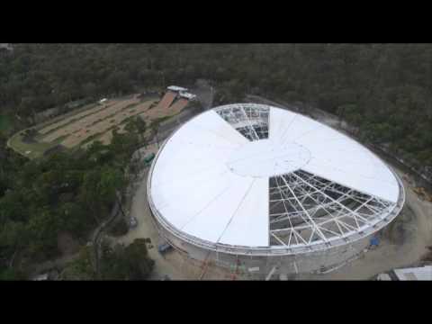 Chandler, Brisbane Velodrome Drone footage