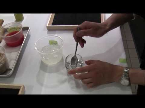 Corey Lee makes a dish at his Benu