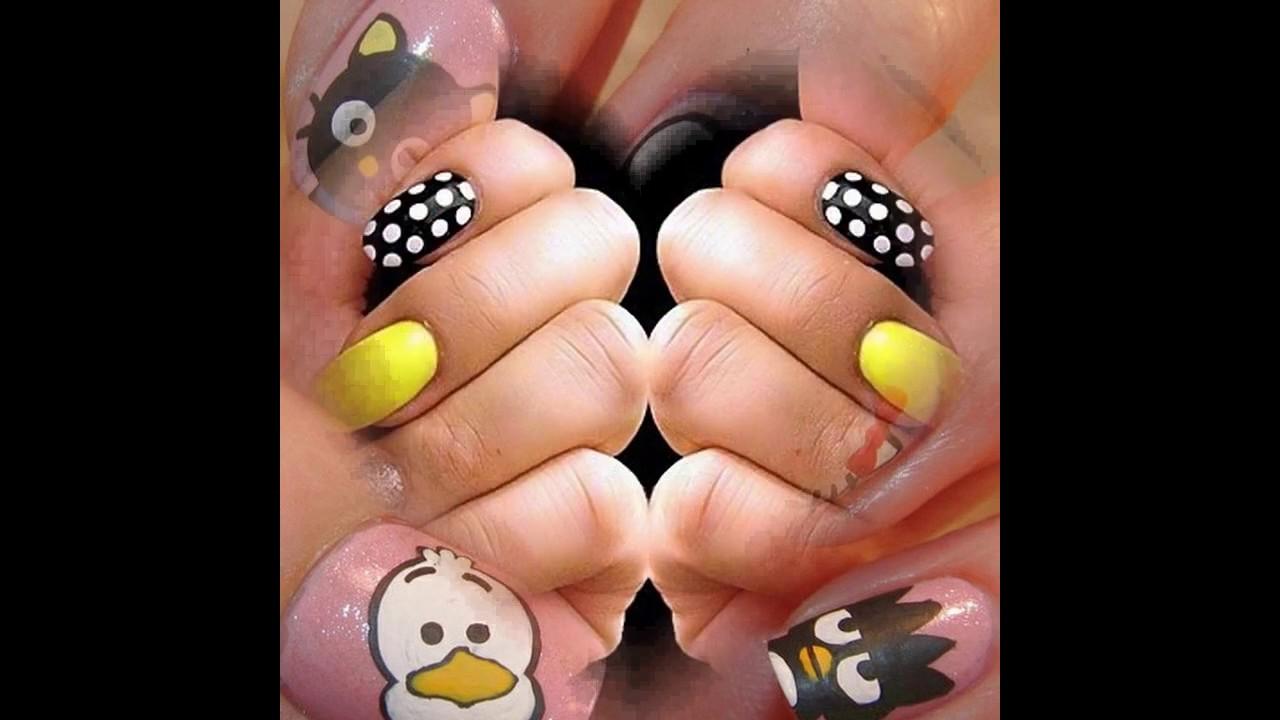 Mejores uñas decoradas diseño para uñas cortas sencillas y elegantes ...