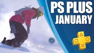 PlayStation Plus Monthly Games - January 2019