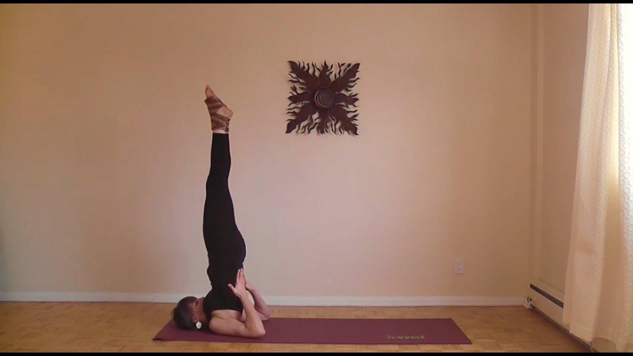 Intermediate Hatha Yoga Flow for Core & Hips