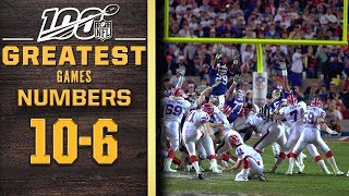 100 Greatest Games: Numbers 10-6 | NFL 100