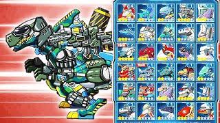 Team T-Rex Soldier - Dino Robot Battlefield | Eftsei Gaming