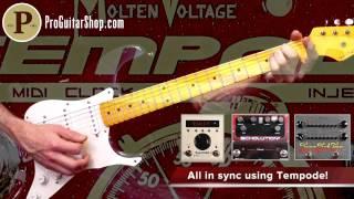 Molten Voltage Tempode - MIDI Clock Generator