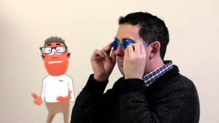 How to check that your swimming goggles fit correctly