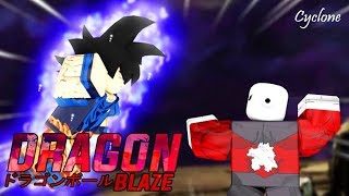 Launched! DRAGON BALL BLAZE BETA NO ROBLOX WITH ALL FORMS SAIYAJINS GOKU!