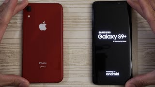 iPhone XR vs Samsung S9 Plus - Speed Test!
