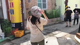 [오로라 브이로그] 포항 동백꽃필무렵 촬영지에서 용식씨 느끼며 걷기