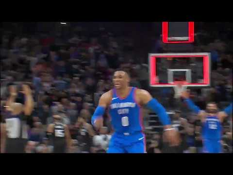 Russell Westbrook Nails Game-Winner at Buzzer to Lead Thunder over Kings