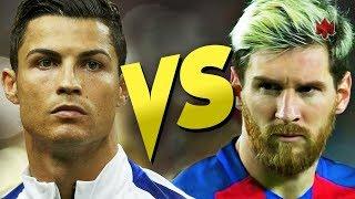 Ronaldo VS Messi Free Kicks Challenge 2017 II رونالدو وميسي تحدي ركلات حرة مباشرة