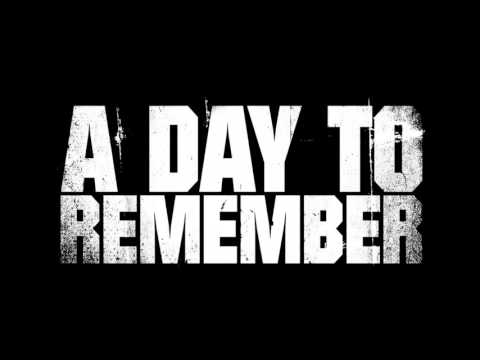 A DAY TO REMEMBER - End Of Me (Instrumental Cover)