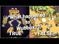 - What happened to Wubbox and Rare Wubbox? My Singing Monsters Earth island skin