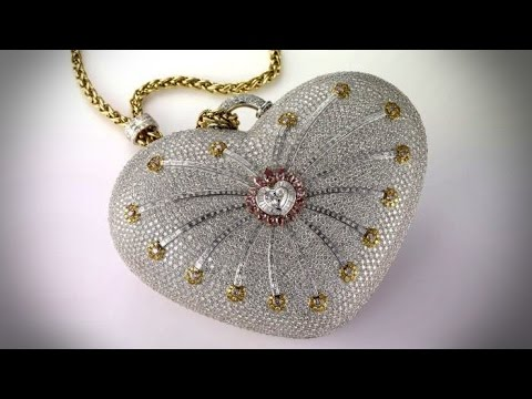 The Mouawad 1001 Nights Diamond Purse Youtube
