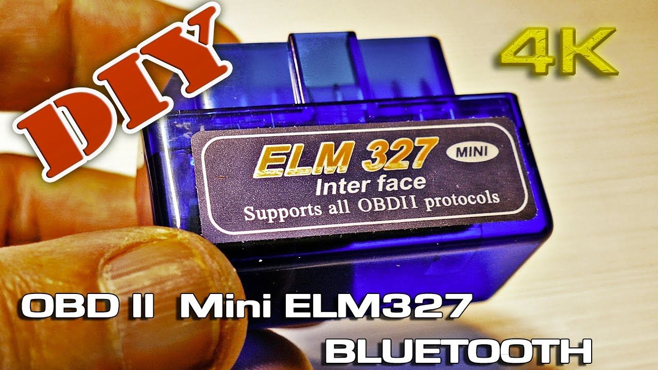 DIY Bluetooth OBD II Mini ELM327 (Installing)