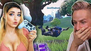 "ANNITHEDUCK """"hackt"""" easy in SEASON 7 FORTNITE!"