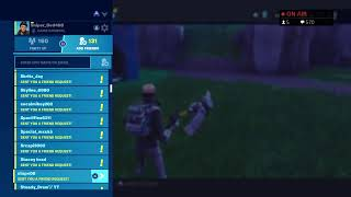 Fortnite Save the world | Every 5 subs ill giveaway a gun