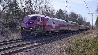 New MBTA Engine Accelerating