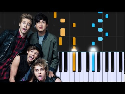 5 Seconds Of Summer  Valentine Piano Tutorial  Chords  How To Play