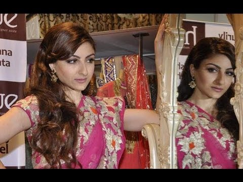 Sexy Soha Ali Khan Launches New Fashion Collection - Latest Celebrity News