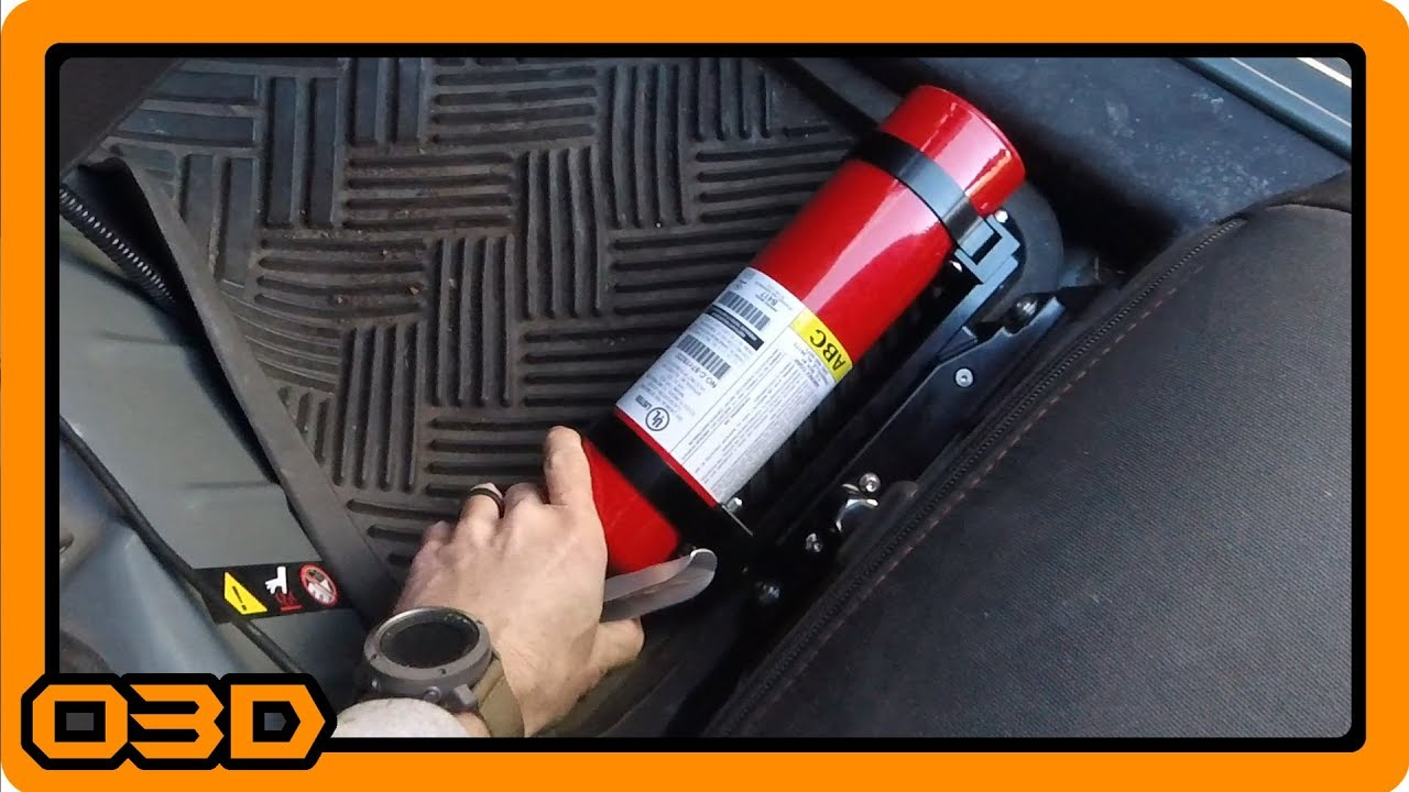 2018 Jeep Wrangler >> PART TWO - Rapto Worx Fire Extinguisher Mount - JK Seat ...