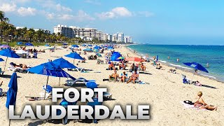Fort Lauderdale, Florida LIVE Water Taxi & Lauderdale-By-The-Sea (February 25, 2021)