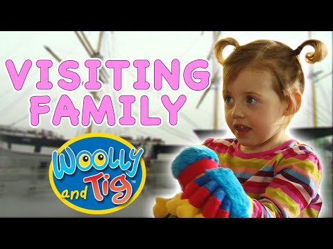 Woolly and Tig - Visiting Family | Kids TV Show | Toy Spider
