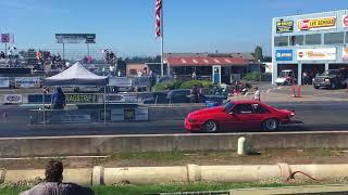 Mike Bader Mustang Qualifying against Dodge Dart
