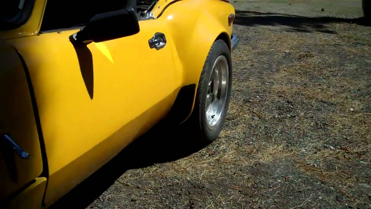 1976 Triumph Spitfire Upgraded With Ford Motor And Transmission