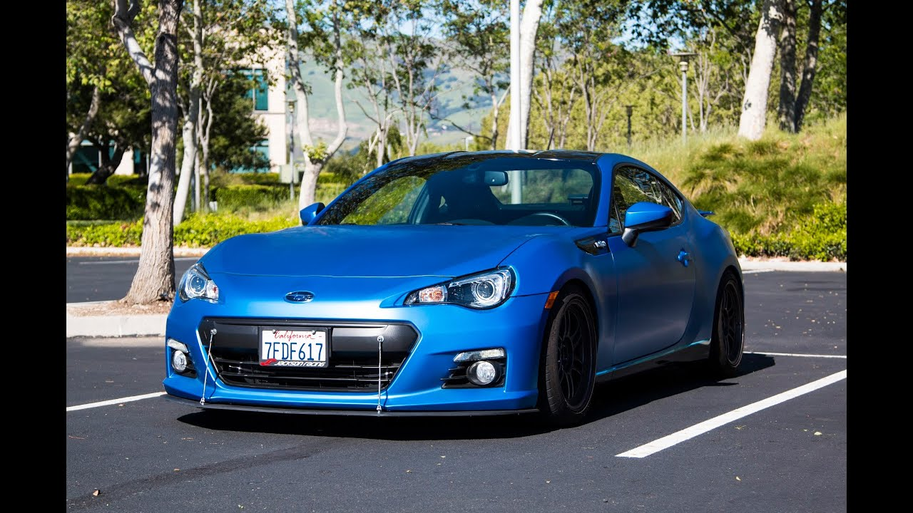 Supercharged 280hp Subaru BRZ - POV test drive - YouTube