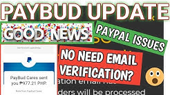 Paybud update and Paypal payment solved for Filipino users||Paybud Proof||Promo codes
