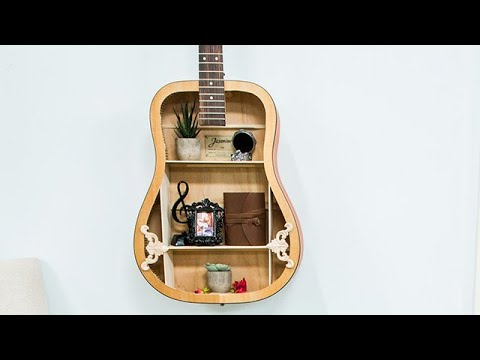 489ae7b791 Inexpensive DIY Guitar Shelf - Hallmark Channel - YouTube