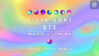 Steve Aoki-Waste It On Me feat.BTS (Cheat Codes Remix)