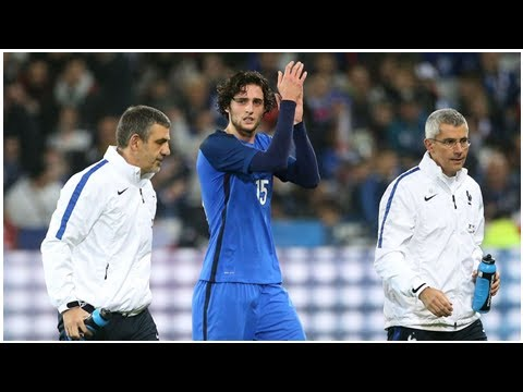 France midfielder Adrien Rabiot's refusal to be World Cup reserve 'massive mistake' - Didier Descha