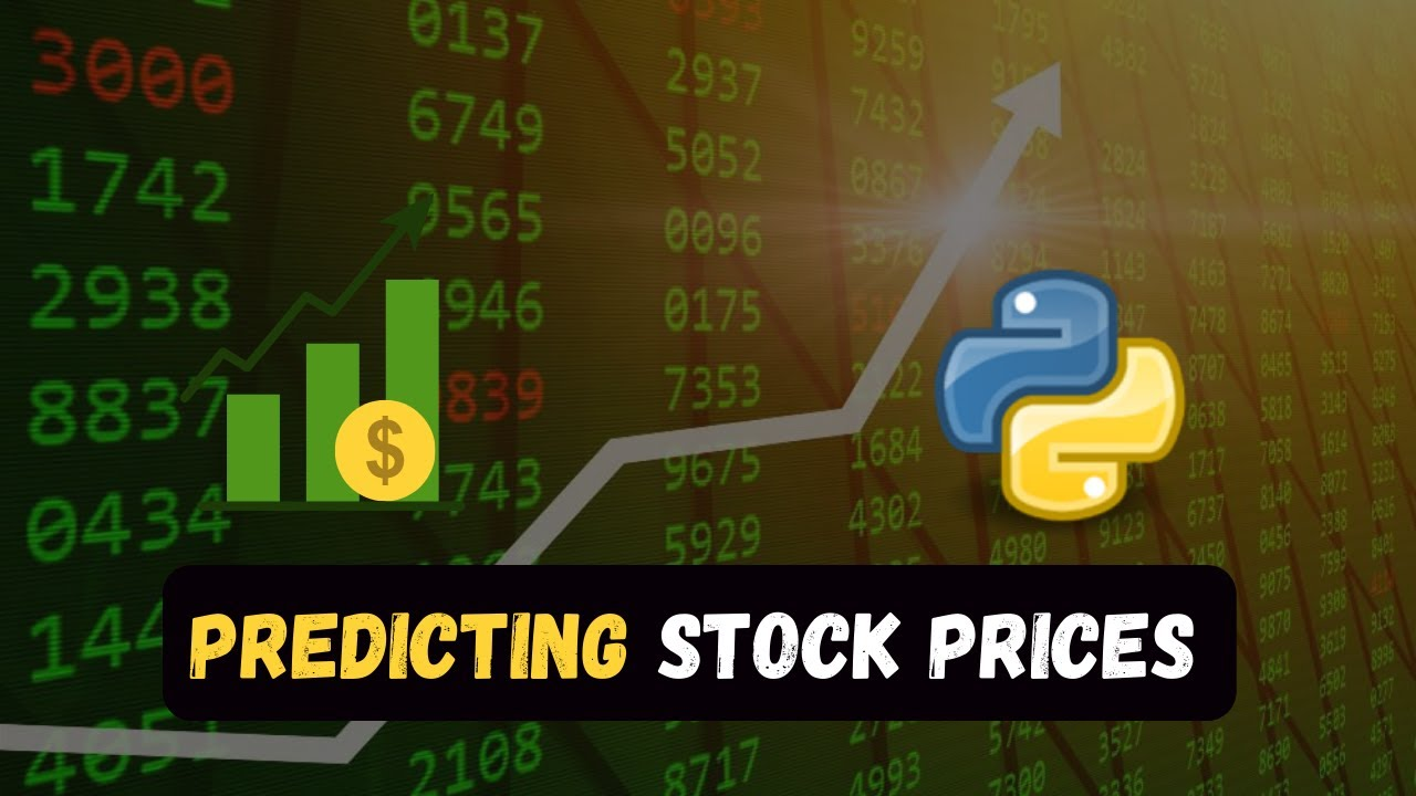 Download Predicting Stock Prices with Python using Machine Learning 🔥