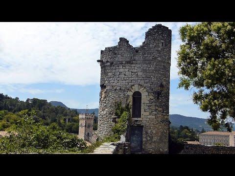 Pont d'Arc et Viviers (Ardèche) HD