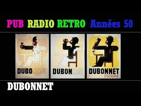 PUB RADIO RETRO ANNEES 50 C'EST l'HEURE DE L'APERO CINZANO DUBONNET PICON MARTINI BERGER AMER PICON