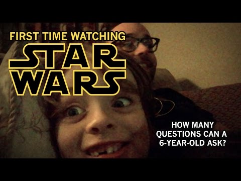 The Emotional Journey Of Watching 'Star Wars' With Your Kid For The First Time | HuffPost Life
