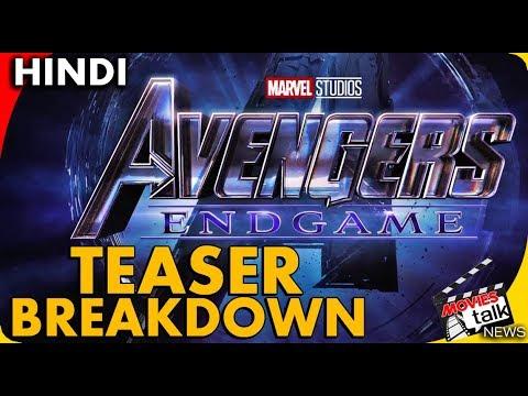 AVENGERS 4 ENDGAME - Official Trailer Breakdown [Explained In Hindi] thumbnail