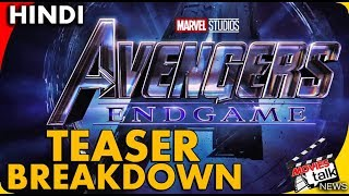 AVENGERS 4 ENDGAME - Official Trailer Breakdown [Explained In Hindi]