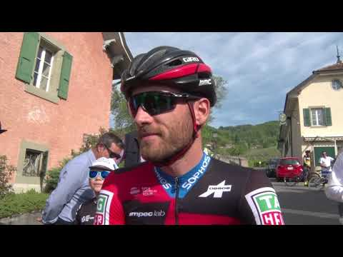 Danilo Wyss - interview at the start - stage 5 - Tour de Romandie 2018