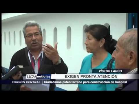 HOSPITAL PARA VICTOR LARCO TRUJILLO PERU