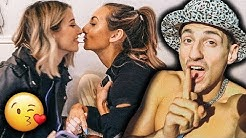GIRLS FIRST KISS FOR VALENTINE'S DAY!! (I'M SHOCKED)