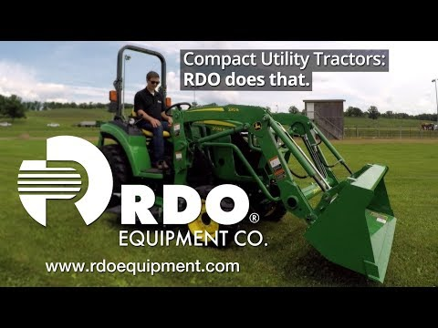 RDO Equipment Co. And John Deere 2038R Tractor Walk-Around