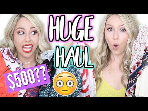 HUGE SUMMER TRY ON HAUL | Clothing, Makeup, Target and MORE!