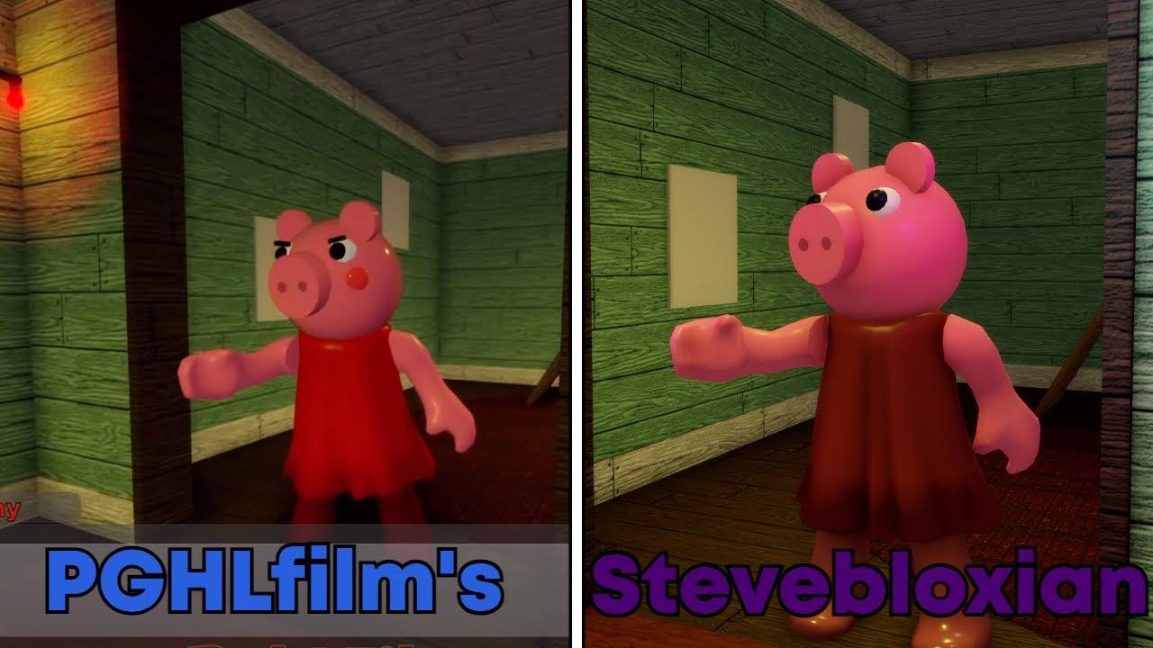 """I REMADE PGHLFILMS """"I BUILD A SNOW MAN"""" - PIGGY ANIMATION"""