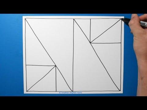 spiral-drawing-#366-/-geometric-metamorphosis-3d-pattern/satisfying-line-illusion/-daily-art-therapy