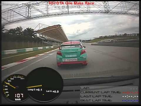 Toyota motorsport sepang circuit 2013