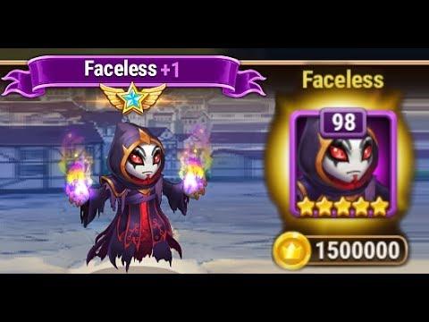 Got Faceless to 6 star | Hero Wars