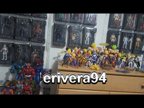 My Entire Full Action Figure Collection - Marvel Legends SH Figuarts Star Wars Black Series